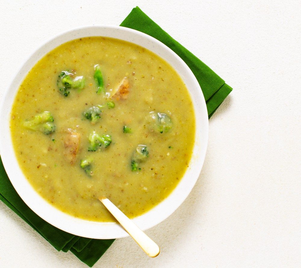 Broccoli Soup   Quick & Healthy Dinner