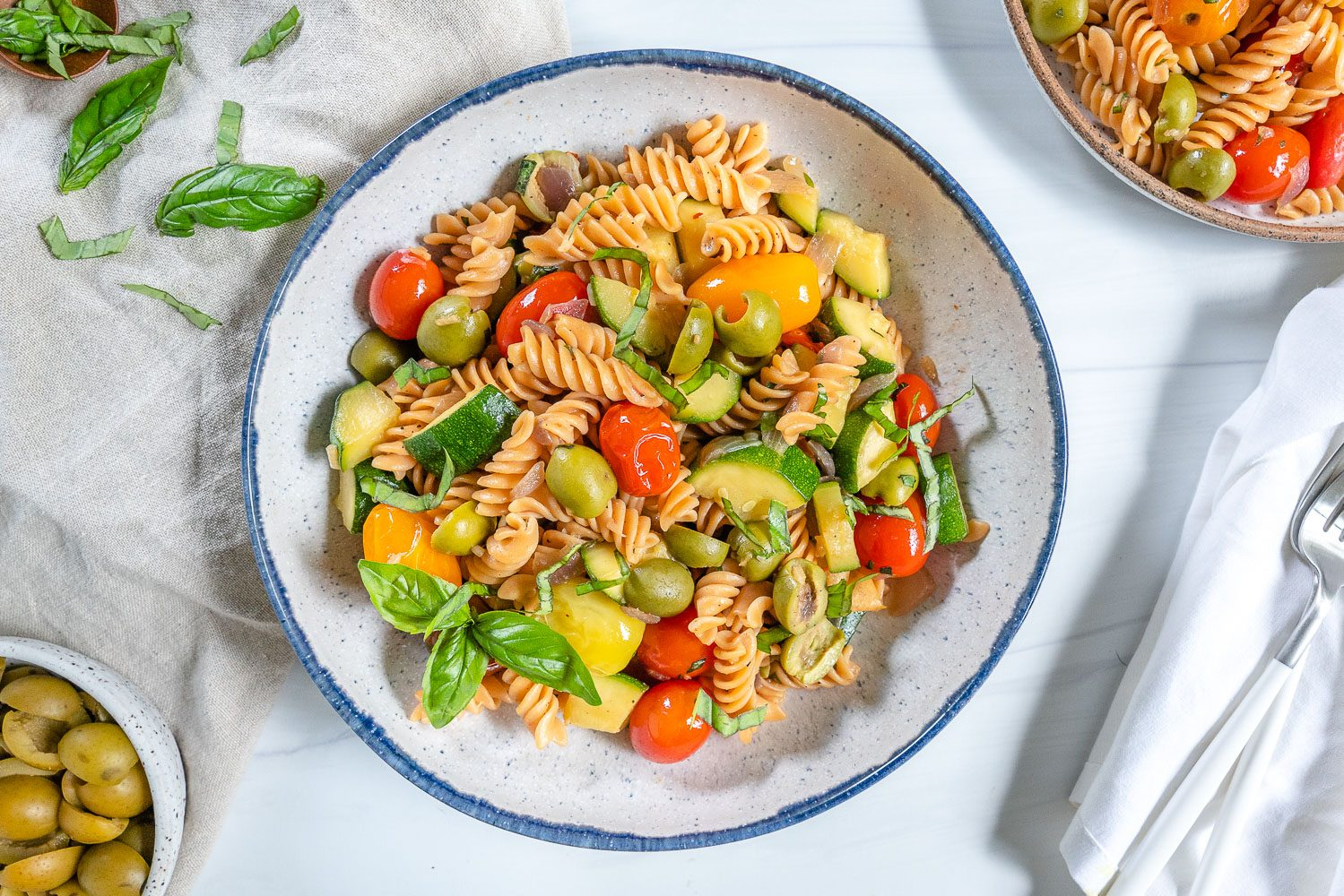 Summertime Pasta - Plant Based on a Budget