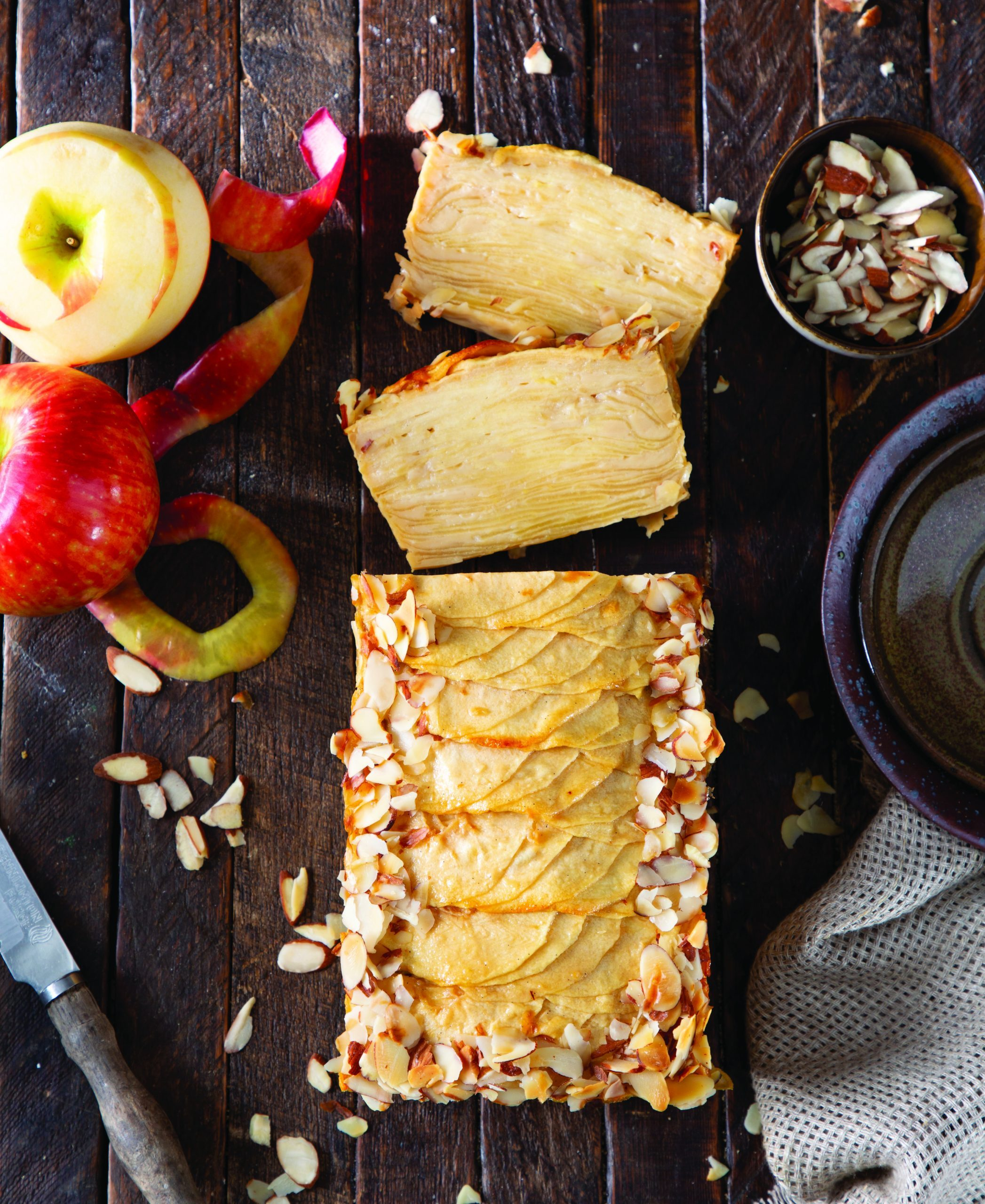 Invisible Apple Maple Cake - Bake from Scratch