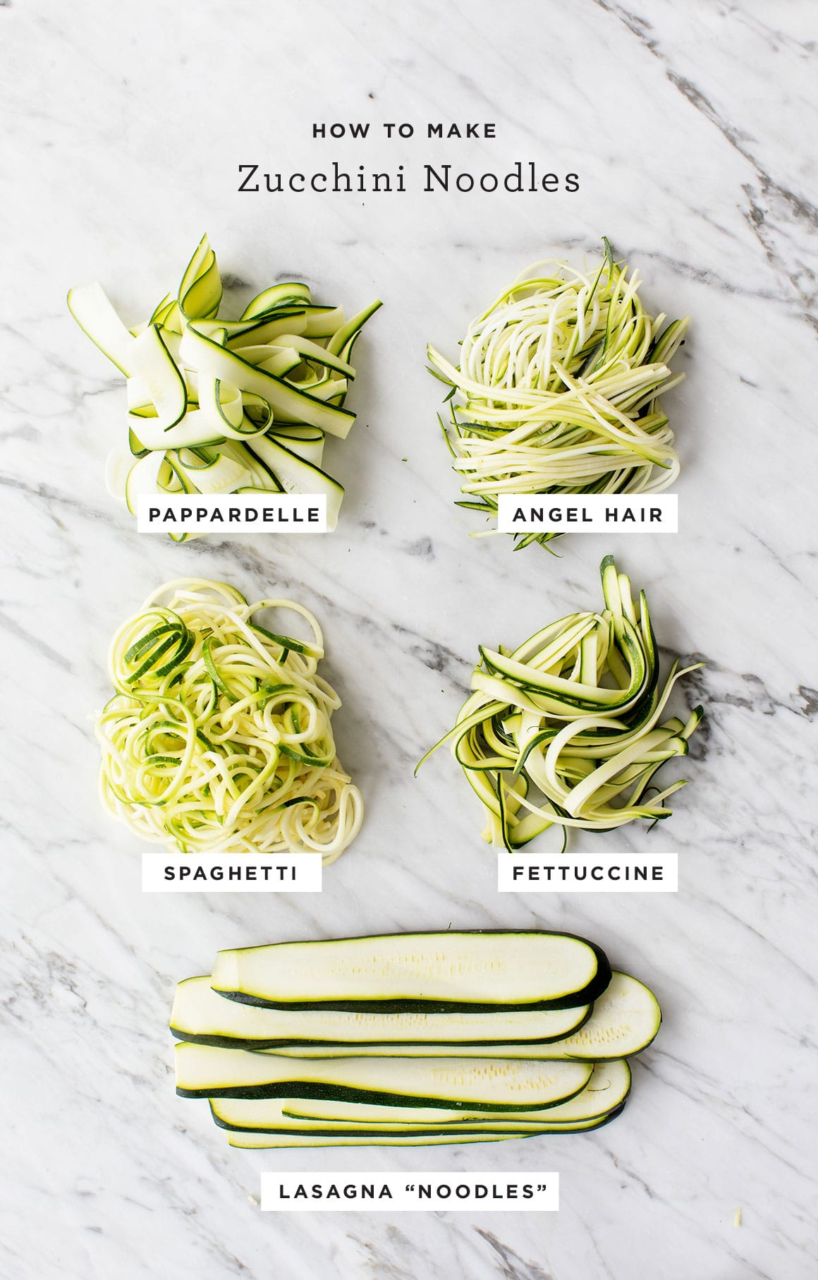 How to Make Zucchini Noodles - Love and Lemons