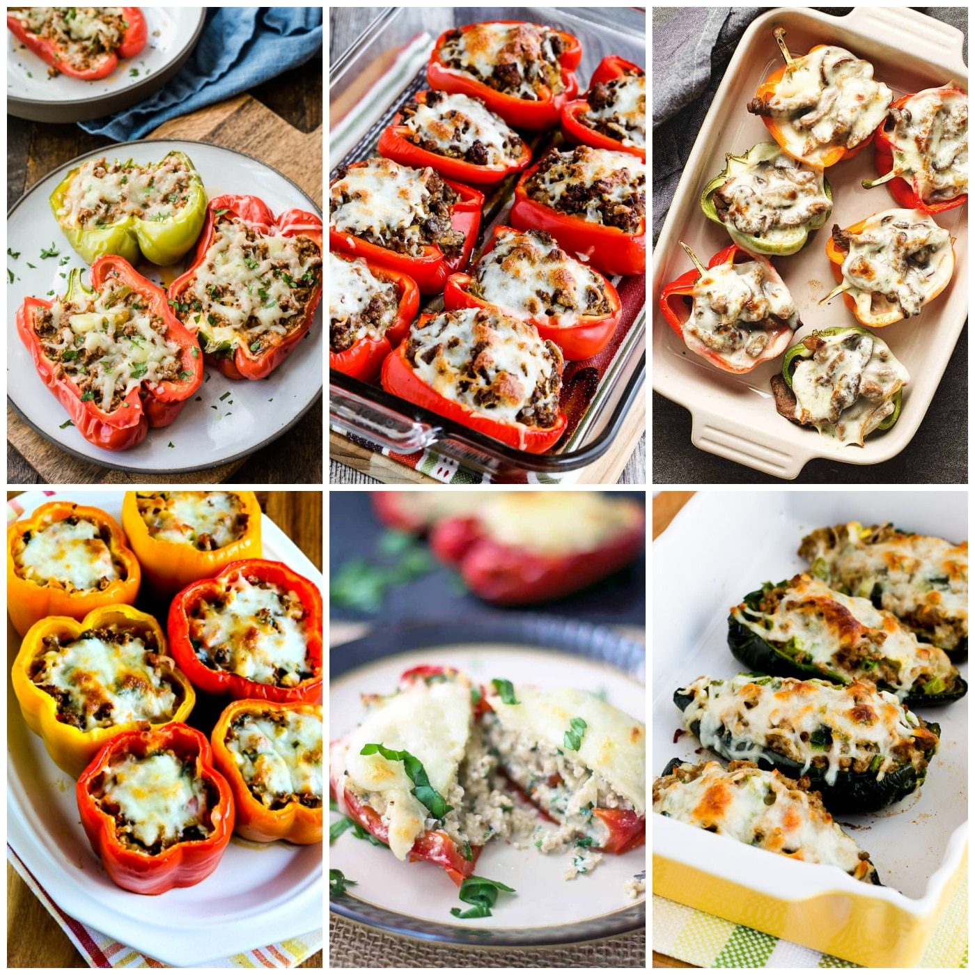 Low-Carb and Keto Stuffed Peppers Recipes  Kalyn's Kitchen